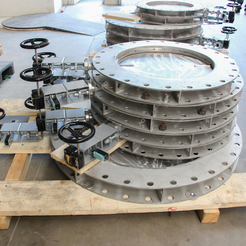 ACI high temperature butterfly valves for exhaust systems