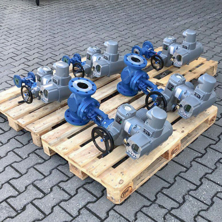 Shut-off valves from ACI fully automated